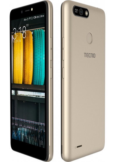 Смартфон Tecno POP 2 Power (B1P) 1/16GB DUALSIM Champagne Gold