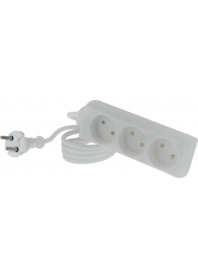 07fc58c4f9be Сетевой фильтр Tecro TSC-3-1.5 3 розетки 1.5m White купить по низкой ...