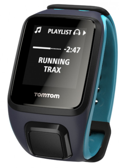 Фото - Смарт-часы TomTom Runner 2 Cardio + Music Scu Bl Sky Capt ... 04956eb9bdcfd