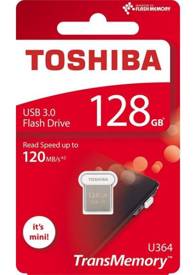 Фото - Флеш USB Toshiba U364 128GB USB 3.0 White (THN-U364W1280E4)