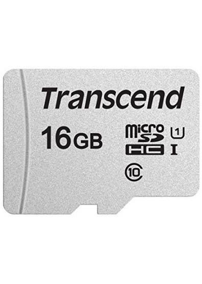 Фото - Карта памяти Transcend microSDHC 300S 16GB UHS-I U1 (TS16GUSD300S)