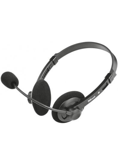 Фото - Гарнитура проводная Trust Lima Chat Headset for PC and Laptop (21663)