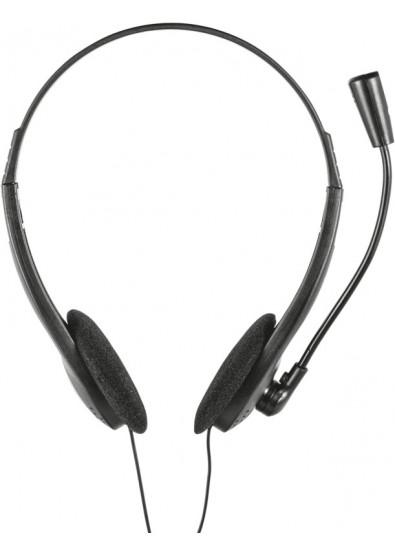 Гарнитура проводная Trust Ziva Chat Headset купить по низкой цене в ... 1debcab461d08