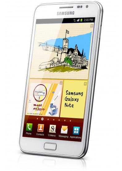 Фото - Смартфон Samsung N 7000 Galaxy Note Ceramic White