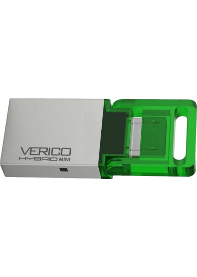 Фото - Флеш USB Verico Hybrid 8 GB Mini Green (1UDOV-RIGN83-NN)