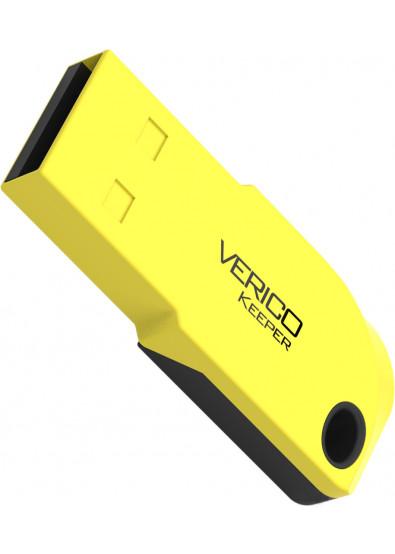 Фото - Флеш USB Verico Keeper 64 GB Yellow+Black (1UDOV-P0YK63-NN)
