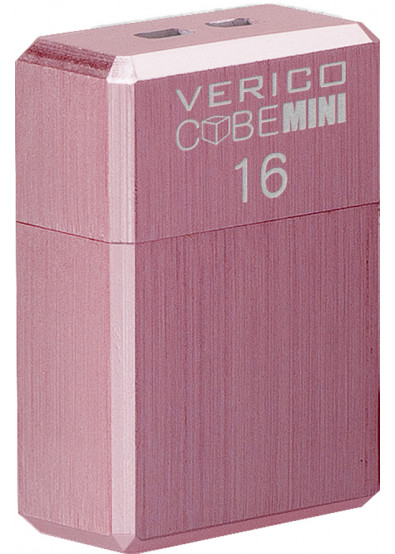 Фото - Флеш USB Verico MiniCube 16 GB Pink (1MCOV-M7PKG3-NN)