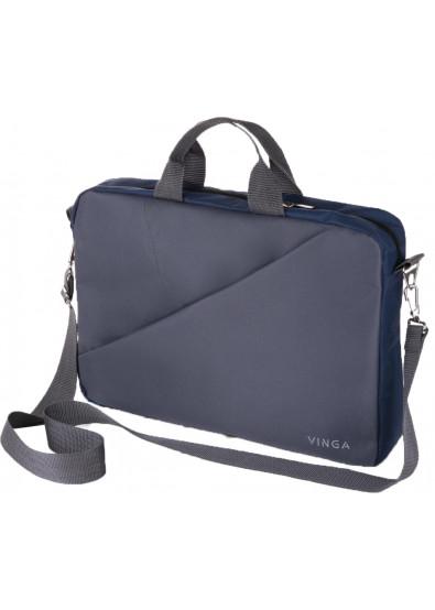 b57916bcfea4 Сумка для ноутбука Vinga 15.6'' NB180GR Gray-Blue купить по низкой ...