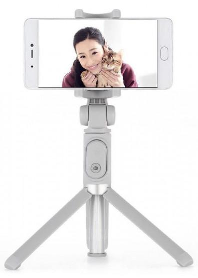 Фото - Трипод для селфи Xiaomi Selfie Stick Tripod Grey (FBA4063CN)
