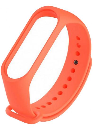 Ремешок для фитнес-браслета Xiaomi Smooth Strap for Mi Band 3 Orange (XMB3-SM-ORG)