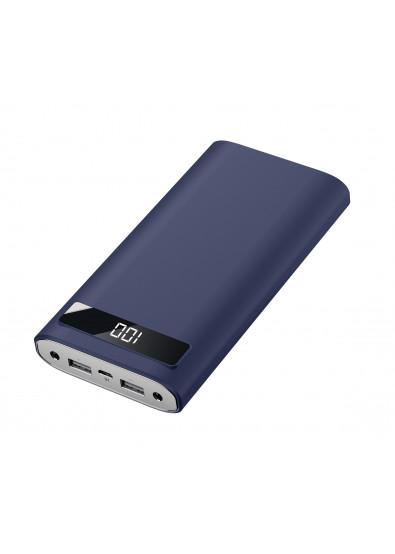 Фото - Батарея мобильная Xipin T12 20000 mAh Blue