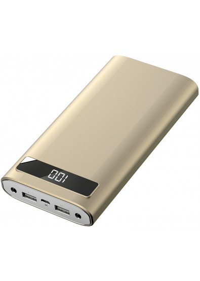 Фото - Батарея мобильная Xipin T12 20000 mAh Gold