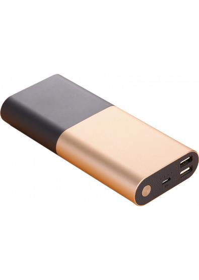 Фото - Батарея мобильная Xipin T7 10000 mAh Gold+Black
