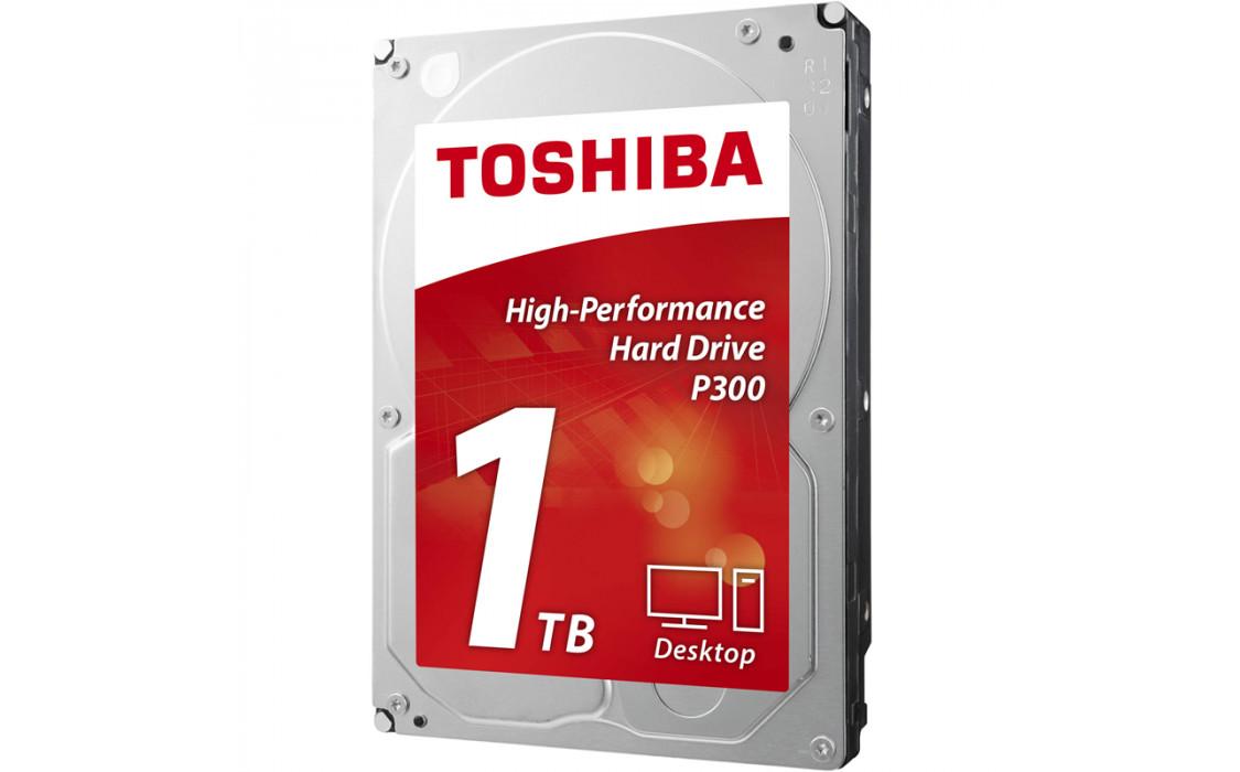 Фото - Жесткий диск внутренний Toshiba P300 1TB 7200rpm 64MB HDWD110UZSVA 3.5 SATA III