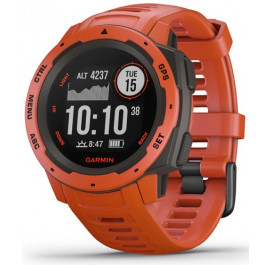 Купити Смарт-годинник Garmin Instinct Flame Red with Red band (010-02064- 303f24d94eb5a