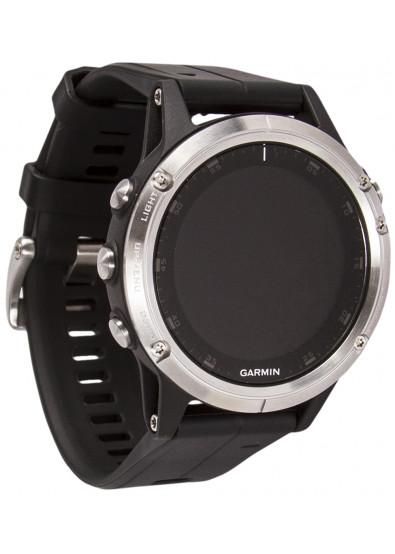 ... Фото - Смарт-годинник Garmin Fenix 5 Plus Glass Silver w Black Band GPS 3471f49fca602