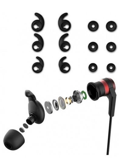 ... Фото - Навушники вкладиші бездротові 1MORE E1018BT iBFree Sport  Wireless Mic Red cfc8d85047429