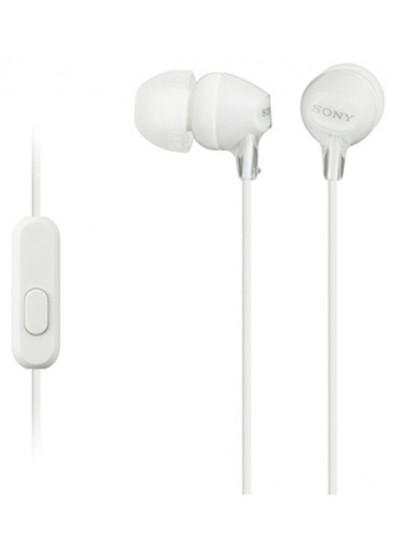 Купити Навушники вкладиші Sony MDR-EX15AP White (MDREX15APW.CE7) за ... 1453cb6854a21