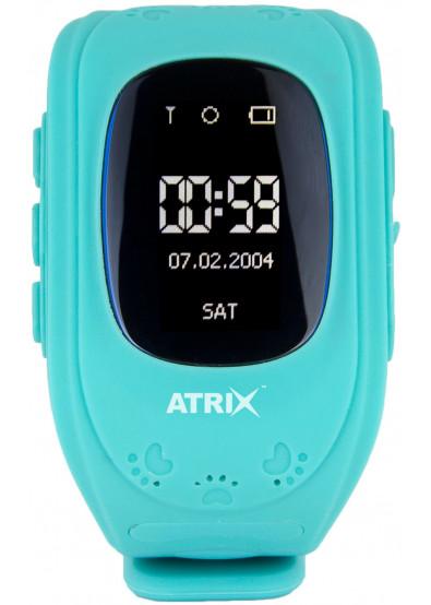 Купити Смарт-годинник ATRIX Smart watch iQ300 GPS blue за низькою ... 46b9b9317fe42
