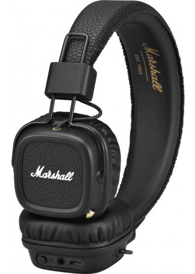 Фото - Навушники накладні Marshall Major II Bluetooth Black (4091378) ... 8262f10915df9
