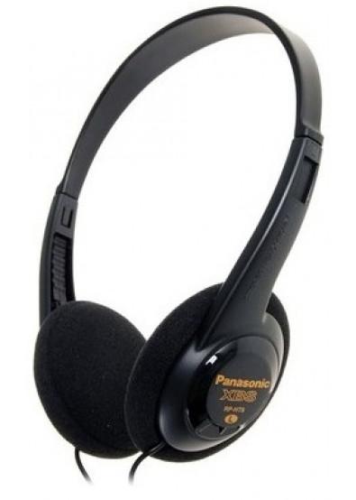 Купити Навушники накладні Panasonic RP-HT6E-K Lightweight за низькою ... 7690560c9a09d