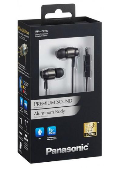 Купити Навушники вкладиші Panasonic RP-HDE3MGC-K за низькою ціною в ... 082200c287815