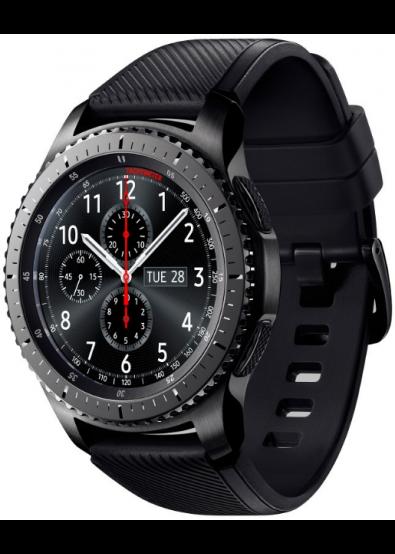 ... Фото - Смарт-годинник Samsung Gear S3 Frontier Space Gray  (SM-R760NDAASEK) ... 9b520c7c470ff
