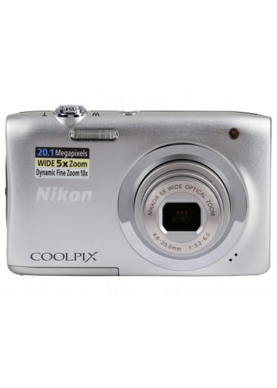 Купити Фотокамера Nikon Coolpix A100 Silver (VNA970E1) за низькою ... d8c6d282923ad