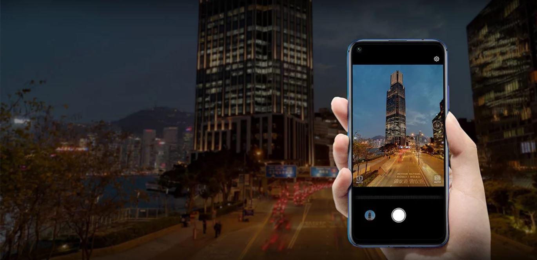 Смартфон Honor 20 Pro 8/256Gb Phantom Blue — Фото 4