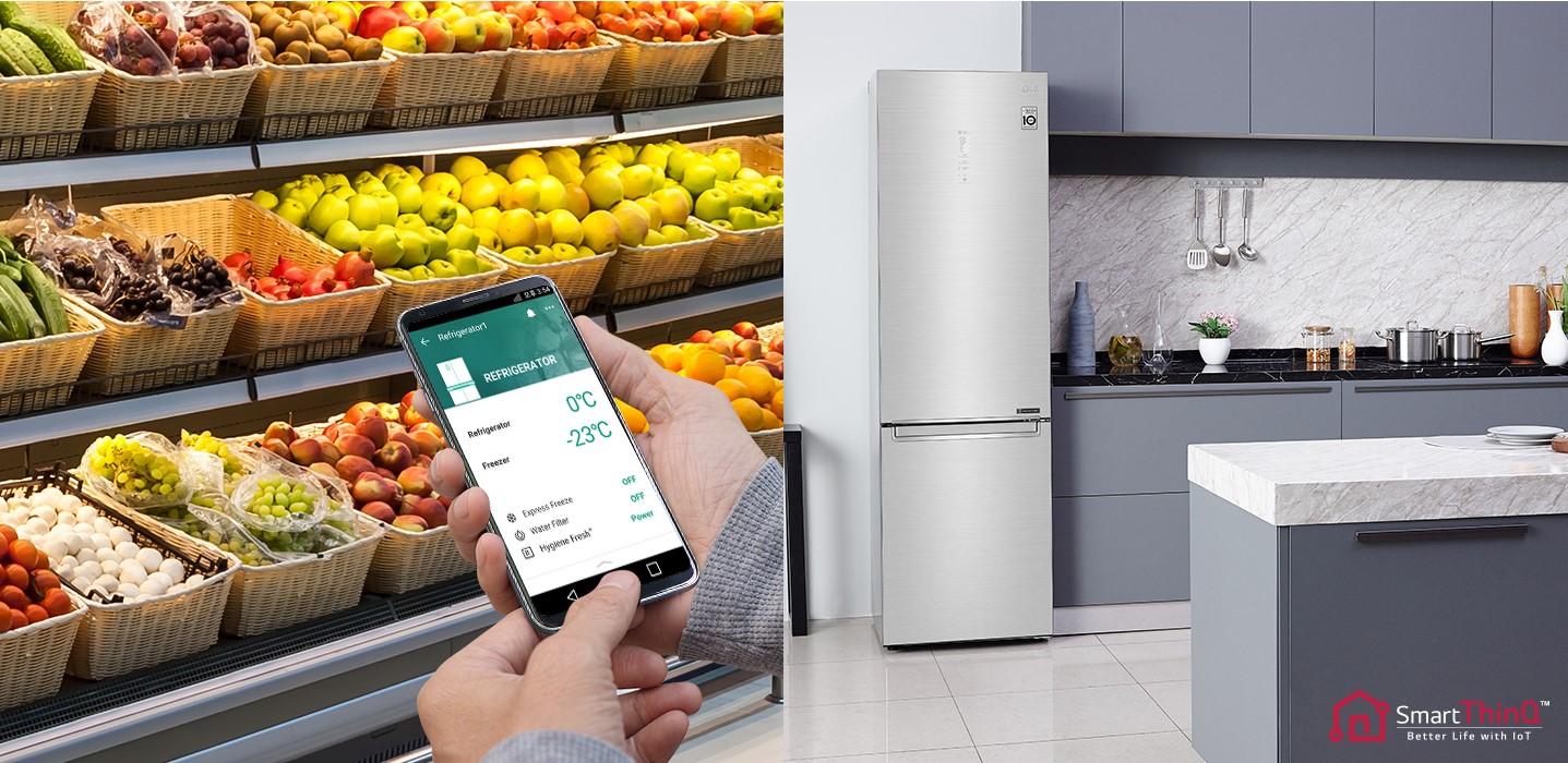 Фото Холодильник LG GA-B509SQKM - 3