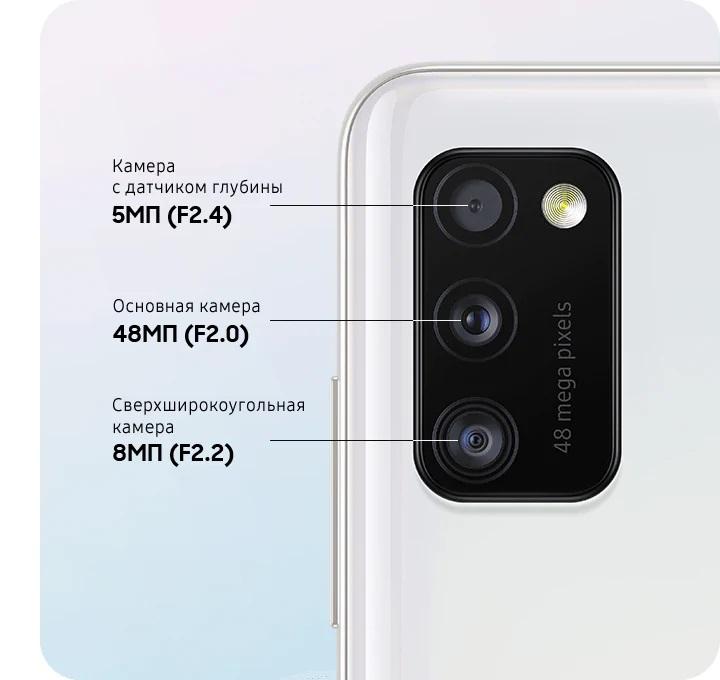 Смартфон Samsung Galaxy A41 Blue — Фото 3