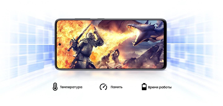 Смартфон Samsung Galaxy A41 Blue — Фото 9